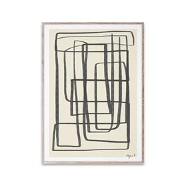 Paper Collective Different Ways II juliste musta 30x40 cm
