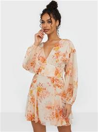 Forever New Blouson Mini Dress