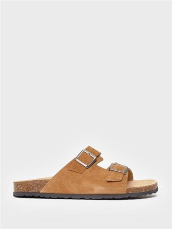 Bianco BIACEDAAR Leather Sandal Sandaalit & varvassandaalit Cognac
