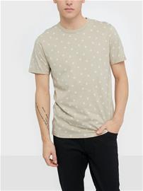 Premium by Jack & Jones Jprtristan Bla. Tee Ss Crew Neck T-paidat ja topit Vaaleanharmaa