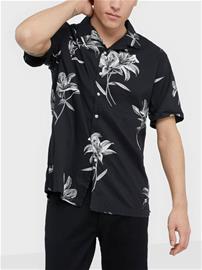 Superdry Hawaiian Box S/S Shirt Kauluspaidat Black