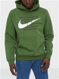 Nike Sportswear M Nsw Swoosh Hoodie Po Bb Puserot Green