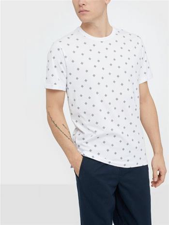 Premium by Jack & Jones Jprtristan Bla. Tee Ss Crew Neck T-paidat ja topit Valkoinen