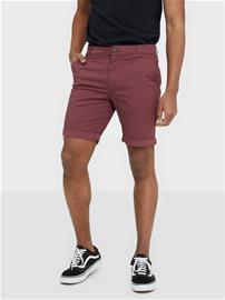 Selected Homme Slhstraight-Paris Shorts W Noos Shortsit Tummanvioletti