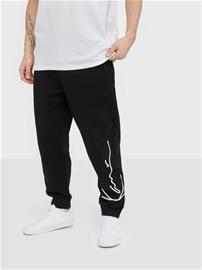 Karl Kani KK Signature Retro Sweatpants Housut Musta/valkoinen
