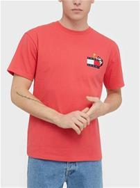 Tommy Jeans Tjm Looney Tunes Tee T-paidat ja topit Red
