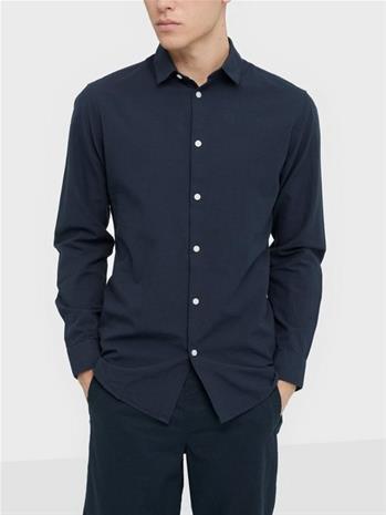 Selected Homme Slhslimlinen Shirt Ls Classic B Kauluspaidat Sky Captain