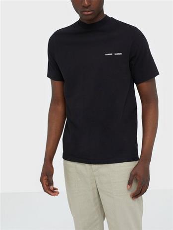 Samsä¸e Samsä¸e Norsbro t-shirt 6024 T-paidat ja topit Black
