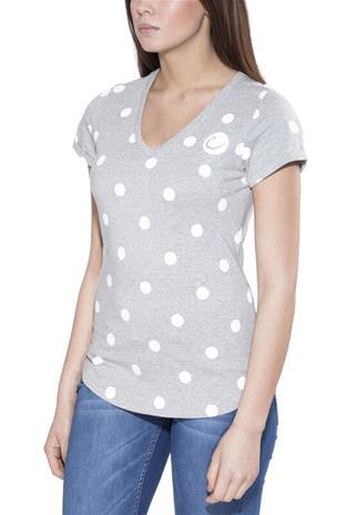 Edelrid Rockover T-paita Naiset, dots