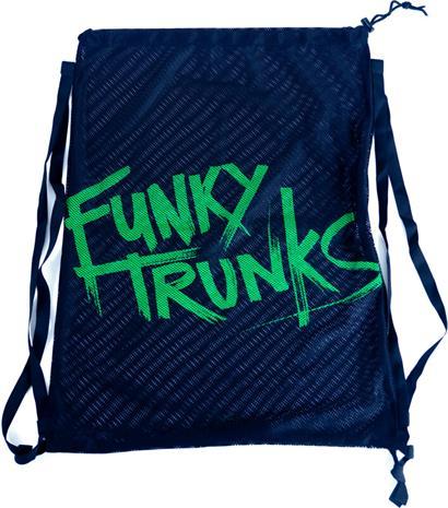 Funky Trunks Mesh Gear Bag, still black, Uintitarvikkeet