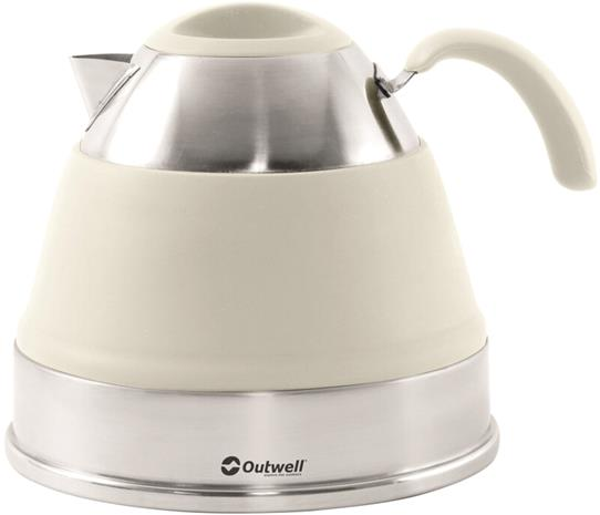 Outwell Collaps Teepannu 2,5l, cream white