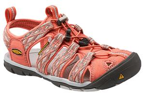 Keen Clearwater CNX Sandaalit Naiset, Fusion Coral/Vapor