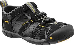 Keen Seacamp II CNX Sandaalit Nuoret, black/yellow