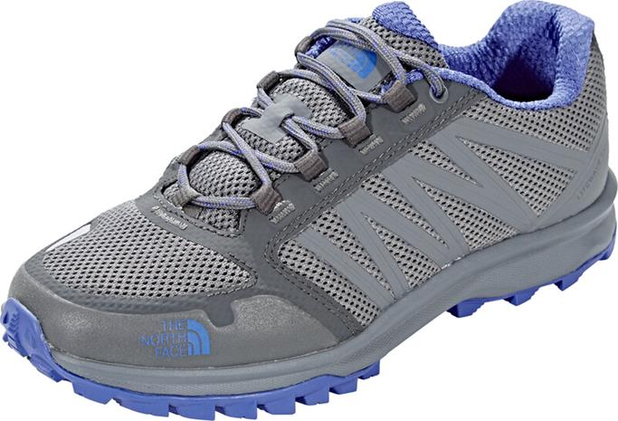 The North Face Litewave Fastpack Kengät Naiset, zinc grey/amparo blue
