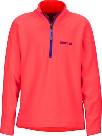 Marmot Rocklin 1/2-vetoketju Tytöt, bright pink