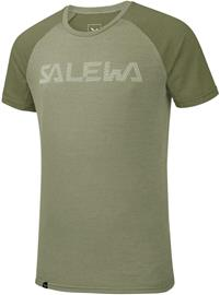 SALEWA Pedroc Delta Dry Lyhythihainen T-paita Miehet, oil green/5876