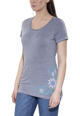 High Colorado Bern T-paita Naiset, grey melange