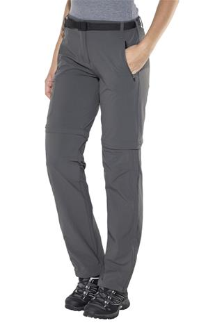 Regatta Xert II Zip off-housut Naiset, seal grey