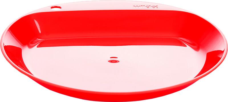 Wildo Camper Plate Flat, red