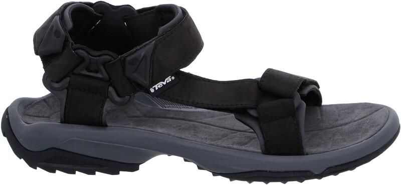 Teva Terra FI Lite Leather Sandaalit Miehet, black