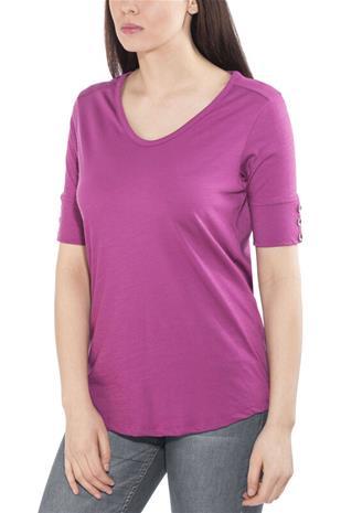 Royal Robbins Merinolux V-kauluksinen T-paita Naiset, aster