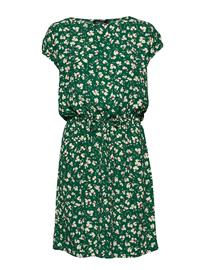Soaked in Luxury Sl Lavada Dress Lyhyt Mekko Vihreä Soaked In Luxury PINE GREEN FLOWER PRINT