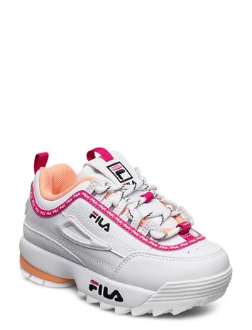 FILA Footwear Disruptor Logo Infants Tennarit Sneakerit Kengät Valkoinen FILA Footwear WHITE / BEETROOT PURPLE