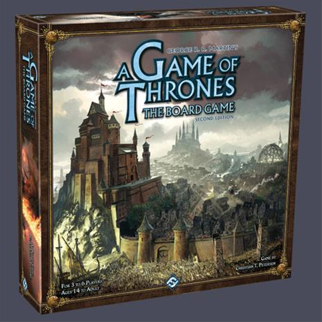 Game of Thrones Boardgame 2nd Edition, lautapeli