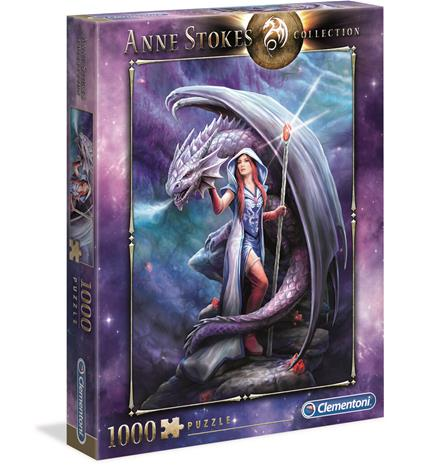 Clementoni Anne Stokes Collection Dragon mage 1000p palapeli