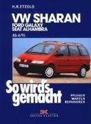 VW Sharan / Ford Galaxy / Seat Alhambra, kirja