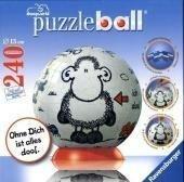 sheepworld: Ohne dich ist alles doof. Puzzleball 240 Teile, kirja