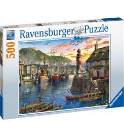 Ravensburger Sunrise at the port 500p