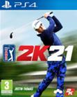 PGA Tour 2K21, PS4 -peli