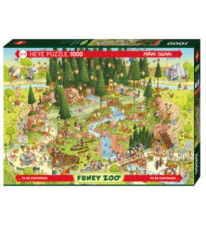 Heye Degano Zoo Black Forest Habitat 1000p palapeli