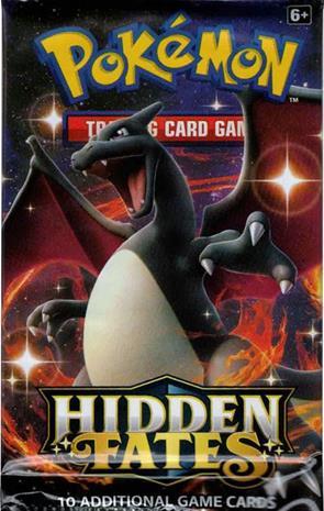 Pokemon Hidden Fates Booster