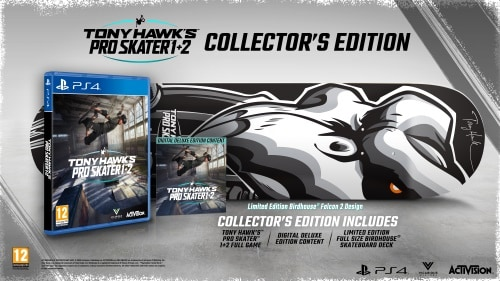Tony Hawk's Pro Skater 1 + 2, PS4-peli