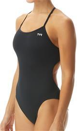 TYR Solid Trinityfit Swimsuit Women, black, Uintitarvikkeet