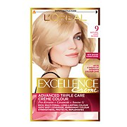 L'Oréal Paris Excellence Crème Permanent Hair Dye (Various Shades) - 9 Natural Light Blonde