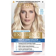 L'Oréal Paris Excellence Crème Permanent Hair Dye (Various Shades) - 1 Lightest Natural Blonde