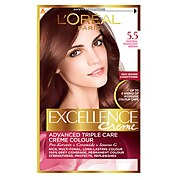 L'Oréal Paris Excellence Crème Permanent Hair Dye (Various Shades) - 5.5 Natural Mahogany Brown
