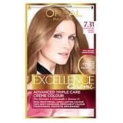 L'Oréal Paris Excellence Crème Permanent Hair Dye (Various Shades) - 7.31 Natural Dark Caramel Blonde