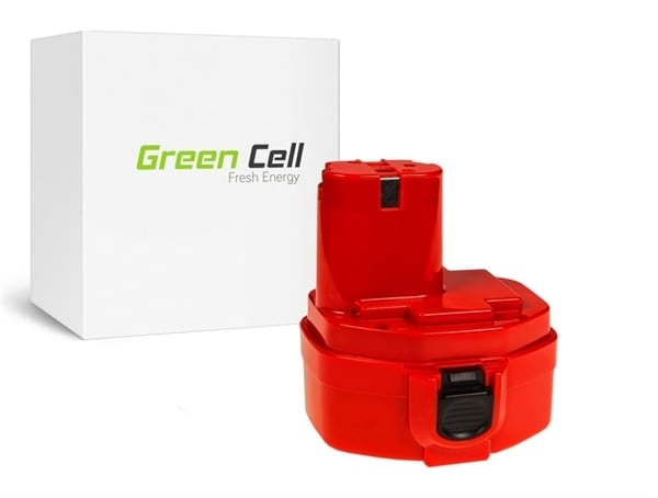 Green Cell PT119 (Makita 1420 1433 1434 4033D 4332D 6228D 6337D), tarvikeakku