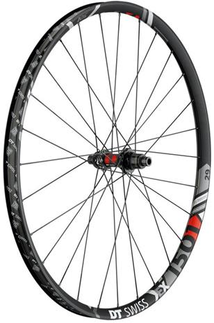 "DT Swiss EX 1501 Spline One Rear Wheel 29""""/30mm TLR Clincher 12/148mm Boost SRAM XD, black"
