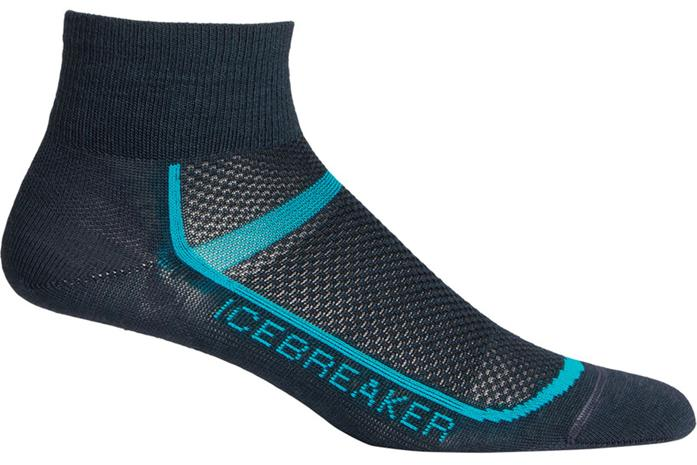 Icebreaker Mulitisport Ultralight Mini Socks Women, oil/lagoon