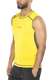 La Sportiva Rocket Toppi Miehet, yellow/carbon