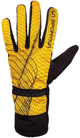 La Sportiva Winter Running Käsineet Miehet, yellow/black
