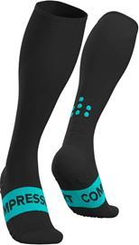 Compressport Race Oxygen Pohjepituiset sukat, black, Miesten housut ja muut alaosat