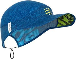 Compressport Pro Racing Lippalakki, blue/melange, Miesten hatut, huivit ja asusteet