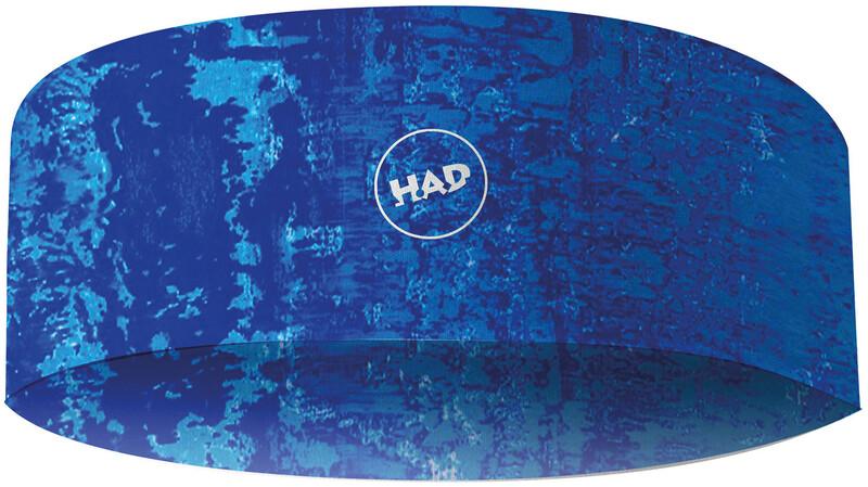 HAD Bonded HADband Otsanauha, shred blue, Miesten hatut, huivit ja asusteet