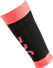 UYN Fly Pohkeet Naiset, black/coral fluo